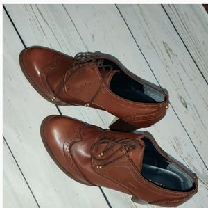 Tommy Hilfiger Leather Booties Like New